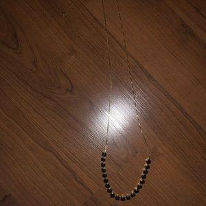 Black and gold Henri Bender Necklace